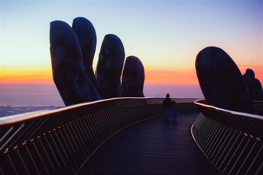 Hình ảnh: Cầu Vàng, một 'sứ giả' của du lịch Việt số 2