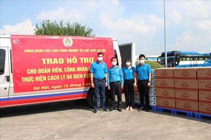 Hà Nội mở các chuyến xe chở hàng thiết yếu 0 đồng hỗ trợ người lao động